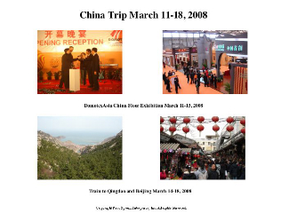 China trip picture collage
